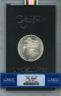 GSA Dollars: , 1883-CC $1 GSA HOARD MS63 NGC. NGC Census: (5644/12629). PCGSPopulation (0/2). ...