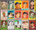 Baseball Cards:Lots, 1957 - 1997 Topps & Fleer baseball Collection (443). ...