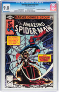 Modern Age (1980-Present):Superhero, The Amazing Spider-Man #210 (Marvel, 1980) CGC NM/MT 9.8 Off-whiteto white pages....
