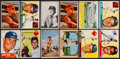 Baseball Cards:Lots, 1952 - 1956 Topps & Bowman Baseball Collection (126). ...