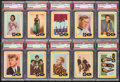 """Non-Sport Cards:Sets, 1960 Fleer """"Spins and needles"""" PSA Graded Collection (31) PlusWrappers. ..."""
