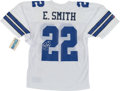 "Football Collectibles:Uniforms, Emmitt Smith Signed Dallas Cowboys ""Authentic"" Jersey. ..."