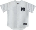Baseball Collectibles:Uniforms, Don Mattingly Signed New York Yankees Jersey....