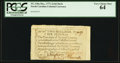 Colonial Notes:North Carolina, North Carolina December, 1771 2s6d Duck PCGS Very Choice New 64.....