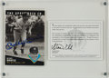 Autographs:Sports Cards, Mickey Mantle Signed Upper Deck Authenticated Card....