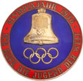 Olympic Collectibles:Autographs, 1936 Olympic Pin...