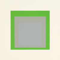 JOSEF ALBERS (American, 1888-1976) Homage to the Square, Soft Edge - Hard Edge (portfolio of 10), 1965<