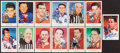 Hockey Cards:Lots, Hockey Hall of Fame Signed Postcards Lot of 13....