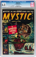 Golden Age (1938-1955):Horror, Mystic #8 (Atlas, 1952) CGC FN+ 6.5 Off-white pages....