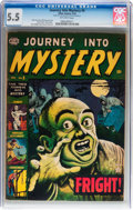Golden Age (1938-1955):Horror, Journey Into Mystery #5 (Atlas, 1953) CGC FN- 5.5 Off-whitepages....