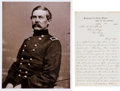 Autographs:Military Figures, John Buford Autograph Letter Signed... (Total: 2 Items)