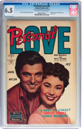 Golden Age (1938-1955):Romance, Personal Love #28 (Famous Funnies, 1954) CGC FN+ 6.5 Off-white to white pages....
