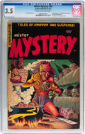 Golden Age (1938-1955):Horror, Mister Mystery #18 (Aragon, 1954) CGC VG- 3.5 Cream to off-whitepages....