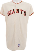 Baseball Collectibles:Uniforms, 1969 Gaylord Perry Game Worn San Francisco Giants Uniform, MEARS A9....