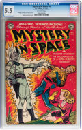 Golden Age (1938-1955):Science Fiction, Mystery in Space #4 (DC, 1951) CGC FN- 5.5 Off-white pages....