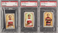 "Hockey Cards:Lots, 1911 C55 ""Hockey Players"" PSA Graded Trio (3). ..."
