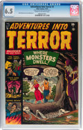 Golden Age (1938-1955):Horror, Adventures Into Terror #7 (Atlas, 1951) CGC FN+ 6.5 Cream tooff-white pages....