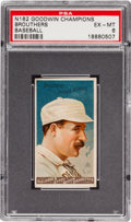 Baseball Cards:Singles (Pre-1930), 1888 N162 Goodwin Dan Brouthers PSA EX-MT 6....