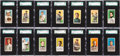 Baseball Cards:Sets, 1909-11 T206 White Border Partial Set (334/521). ...