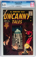 Silver Age (1956-1969):Horror, Uncanny Tales #52 (Atlas, 1957) CGC FN- 5.5 Off-white to whitepages....