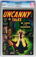 Golden Age (1938-1955):Horror, Uncanny Tales #6 (Atlas, 1953) CGC FN- 5.5 Off-white to whitepages....