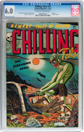 Golden Age (1938-1955):Horror, Chilling Tales #13 (Youthful Magazines, 1952) CGC FN 6.0 Off-whiteto white pages....