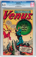 Golden Age (1938-1955):Horror, Venus #14 (Atlas, 1951) CGC VG+ 4.5 Off-white to white pages....