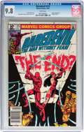 Modern Age (1980-Present):Superhero, Daredevil #175 (Marvel, 1981) CGC NM/MT 9.8 White pages....