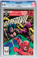Modern Age (1980-Present):Superhero, Daredevil #176 (Marvel, 1981) CGC NM/MT 9.8 White pages....