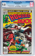 Bronze Age (1970-1979):Cartoon Character, Howard the Duck #16 (Marvel, 1977) CGC NM/MT 9.8 White pages....