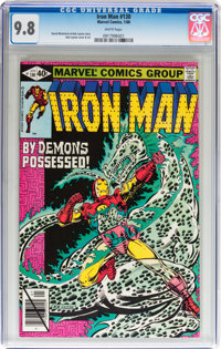 Iron Man #130 (Marvel, 1980) CGC NM/MT 9.8 White pages