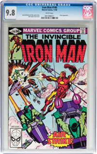 Iron Man #140 (Marvel, 1980) CGC NM/MT 9.8 White pages