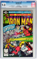Modern Age (1980-Present):Superhero, Iron Man #143 (Marvel, 1981) CGC NM/MT 9.8 White pages....