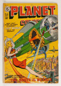 Golden Age (1938-1955):Science Fiction, Planet Comics #61 (Fiction House, 1949) Condition: FN-....