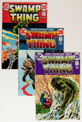 Bronze Age (1970-1979):Horror, Swamp Thing #1-10 Group (DC, 1972-74) Condition: Average FN/VF....(Total: 10 )