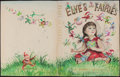 Books:Original Art, Garth Williams. Original Watercolor Study for the Covers of TheGiant Golden Book of Elves and Fairies by Jane Wer...