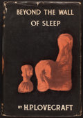 Books:Horror & Supernatural, H. P. Lovecraft. Beyond the Wall of Sleep. Sauk City,Wisconsin, 1943. First edition....