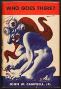 Books:Science Fiction & Fantasy, John W. Campbell, Jr. Who Goes There? Chicago: Shasta Publishers, 1948. First edition, one of 200 subscriber's cop...