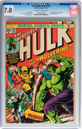 Bronze Age (1970-1979):Superhero, The Incredible Hulk #181 (Marvel, 1974) CGC FN/VF 7.0 Off-white towhite pages....