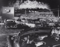 Photographs, O. WINSTON LINK (American, 1914-2001). Hot Shot Eastbound at the Iaeger Drive-In, West Virginia, 1956. Gelatin silver, p...