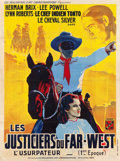 "Movie Posters:Serial, The Lone Ranger (R.A.C., 1938). French Grande (46"" X 62"").. ..."