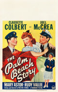 "Movie Posters:Comedy, The Palm Beach Story (Paramount, 1942). Window Card (14"" X 22""). Comedy.. ..."
