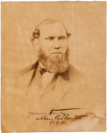 Autographs:Non-American, Allan Pinkerton Inscribed Photograph Signed....