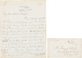 Autographs:U.S. Presidents, Rutherford B. Hayes Autograph Letter Signed...