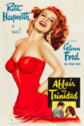 "Movie Posters:Film Noir, Affair in Trinidad (Columbia, 1952). One Sheet (27"" X 41"") StyleA.. ..."