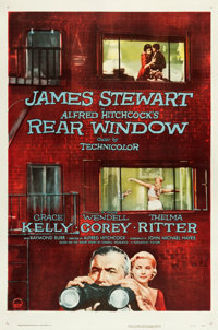 "Rear Window (Paramount, 1954). One Sheet (27"" X 41"")"