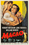 "Movie Posters:Film Noir, Macao (RKO, 1952). One Sheet (27"" X 41"").. ..."