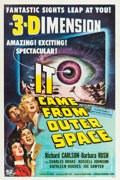 "Movie Posters:Science Fiction, It Came from Outer Space (Universal International, 1953). One Sheet(27"" X 41"") 3-D Style.. ..."