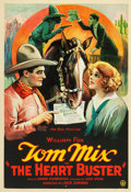 "Movie Posters:Western, The Heart Buster (Fox, 1924). One Sheet (28"" X 40.5"").. ..."