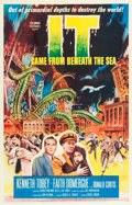 """Movie Posters:Science Fiction, It Came from Beneath the Sea (Columbia, 1955). One Sheet (26.5"""" X41"""").. ..."""